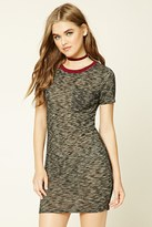 Forever 21 FOREVER 21+ Marled Knit T-Shirt Dress