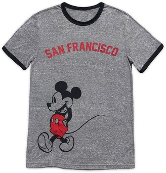 Disney Mickey Mouse Ringer T-Shirt for Adults San Francisco