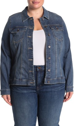 KUT from the Kloth Helena Denim Jacket (Plus Size)