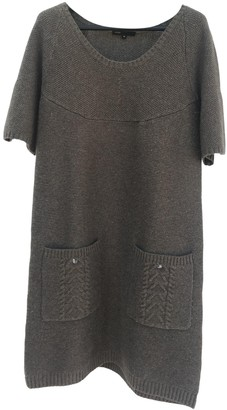 Maje Grey Wool Dresses