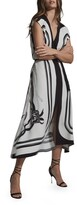 Thumbnail for your product : Reiss Heidi Mixed Print Dress
