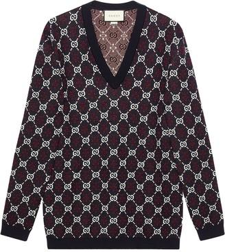 Gucci GG diamond wool sweater