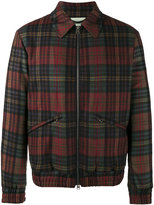 Etro plaid shirt jacket - men - Cotton/Polyester/Polyurethane/Cashmere - S