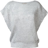 Fay knit top - women - Cotton/Linen/Flax - XS