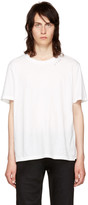 Saint Laurent White 'Je T'aime' T-Shirt