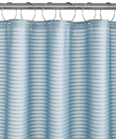 Charter Club Woven Stripe Shower Curtain Liner