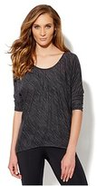 New York & Co. Love, NY&C Collection - Space-Dyed Dolman-Sleeve Tunic