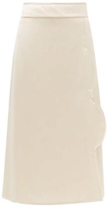 Jil Sander Padded Midi Skirt - Light Pink