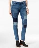 Tommy Hilfiger Patchwork Medium Wash Straight-Leg Jeans