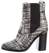 Reed Krakoff Woven Ankle Boots