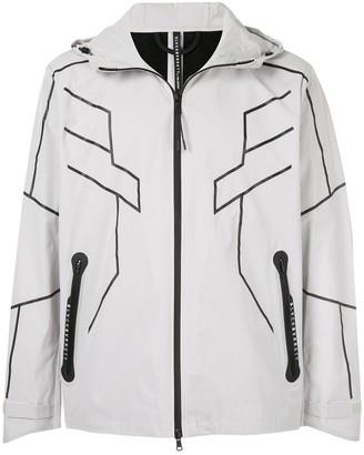 Blackbarrett Contrast Detail Zip-Front Jacket