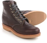 """Chippewa Plain-Toe Lace-Up Boots - Leather, 6"""" (For Women)"""