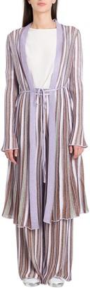 M Missoni Striped Long Cardigan