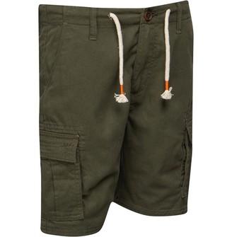 Threadboys Junior Boys Shorts Taz Khaki