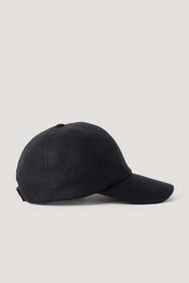 NA-KD Linen Baseball Cap
