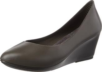 walk&rest Women's Wedge Platform Ballet Flats