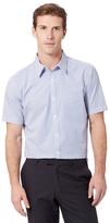 J By Jasper Conran Designer Blue Double Striped Shirt