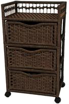 Oriental Furniture 3-Drawer Storage Chest