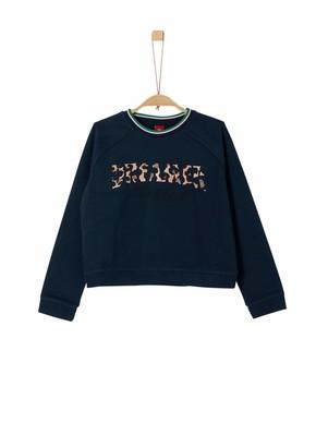 S'Oliver Girls' 66.908.41.2712 Sweatshirt