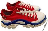 Raf Simons Adidas X Detroit Runner Red Cloth Trainers