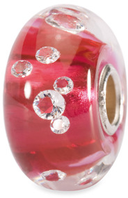 Bed Bath & Beyond Trollbeads Italian Glass Bead with Large Core - Pink