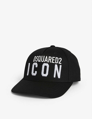 DSQUARED2 Icon cotton cap 8-14 years