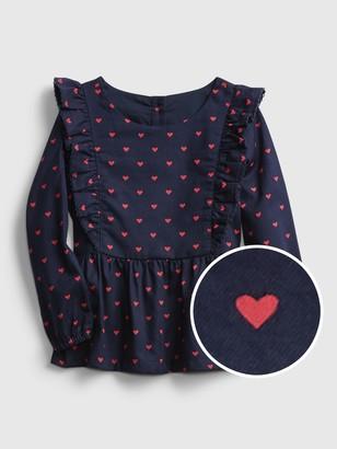 Gap Toddler Heart Tunic Top