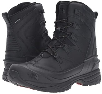 The North Face Chilkat EVO (TNF Black/Rudy Red) Men's Lace-up Boots