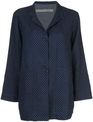 Raquel Allegra oversized buttoned blazer