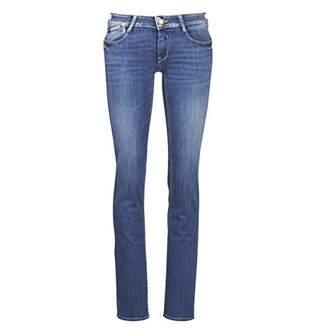 Le Temps Des Cerises Women's Jfpulprewm153 Straight Jeans