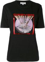 Carven castle print T-shirt - women - Cotton - M