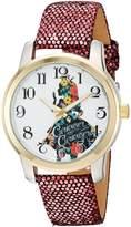 Disney Alice In Wonderland Women's W002900 Alice in Wonderland Analog Display Analog Quartz Watch