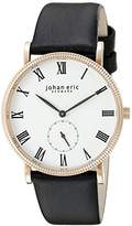 Johan Eric Men's JE-H1000-09-001 Holstebro Analog Display Quartz Black Watch