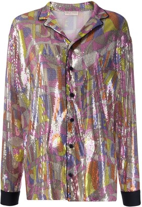 Emilio Pucci Sequin Embroidered Shirt
