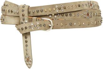 Isabel Marant Djelvis Studded Leather Belt