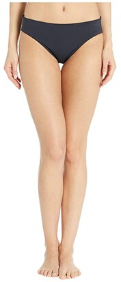 Bleu Rod Beattie Kore Bottoms Ruched Back Low Rise Bottoms (Black) Women's Swimwear