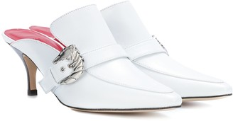 Dorateymur Cabriolet leather mules