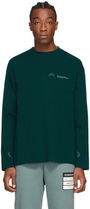 A-Cold-Wall* A Cold Wall* Green Logo Long Sleeve T-Shirt