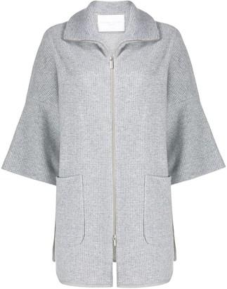 Fabiana Filippi Oversized Short-Sleeve Coat