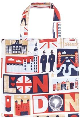 Harrods Small Iconic London Shopper Bag