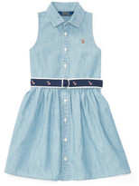 Polo Ralph Lauren Cotton Chambray Shirtdress (2-7 Years)