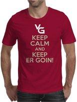 TopLAD Keep Calm and Keep Er Goin! Mens T-Shirt /