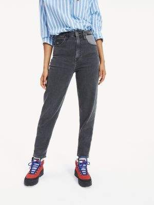 Tommy Hilfiger Contrast Mom Fit Jeans