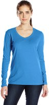 Champion Women's Long Sleeve Soft Jersey Tee