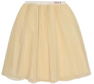 Gucci Kids Baby silk-organza skirt