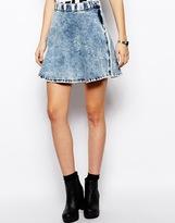 Dr. Denim Circle Skirt