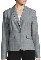Liz Claiborne Long-Sleeve Suiting Blazer
