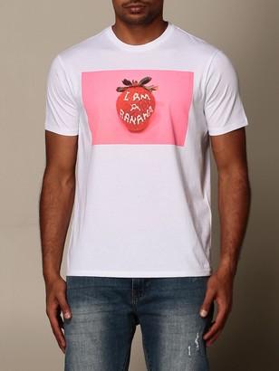 Armani Exchange Cotton T-shirt With Print