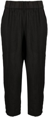 Barena Cropped Linen Trousers