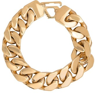 Off-White Clip-Fastening Curb-Chain Bracelet